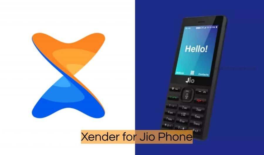 Xender para teléfono Jio